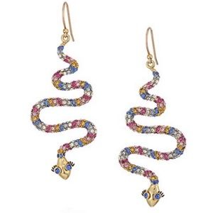 KATE SPADE • Spice Things Up Snake Earrings